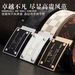 Wholesale Types Belts Men - NEW MEN'S Famous Brand Skin Waist For Men Casual Feragamo PIN buckle Cow Skin Waist Business type leisure leather Are men and women