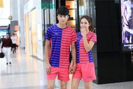 Wholesale Table Tennis Woman Shirt - New 2016 Li-Ning Table Tennis Sportswear Table Tennis Shirts Sports Jersey Women Men Sportswear Badminton T-Shirts Baseball Jeresys