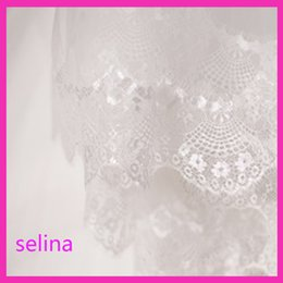 Wholesale Eyelash Lace Veil - 2017 new European bride veil eyelash lace veil no flowers comb can cover long Veil Bride headdress