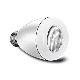 Wholesale Cheap Mini Led Bulbs - Wholesale- 2017 Cheap White Wireless E27 RGB LED Bulb Bluetooth Speaker Dimmingable Remote Control LED 6W HIFI Bulb Speaker bb02