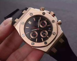 Wholesale Mens Offshore Watch - AAA Brand MENS Sports Watches Royal Oak Offshore Limited Edition Lebron Chronograph luxury James quartz movement stopwatch wristWatches