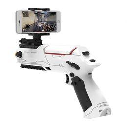 Wholesale Motion Gun - 2017 Most Popular PP GUN Mini Motion Sensor Gamepad Shooting Game Gun Mobile FPS Selfie Game Controller Bluetooth 4.0 for iOS Android