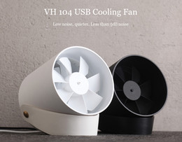 Wholesale Quiet Fans - Smart VH Touch Cooling Fan Ultra-Quiet USB Powered Portable Desk Fan Touch Sensor Switch with double leaf Silent USB Wind with hanging stra