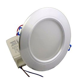 Wholesale Downlight Fixtures - 10W Power LED Downlight Lamp Ceiling Bulbs Day Warm Cool White White Light Dimmable Led Fixture Downlights