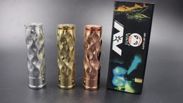 Wholesale Electronic Cigarettes Sample - Chinese supplier Marvec AV Avid Lyfe brass material mechanical mod free sample free shipping electronic cigarette
