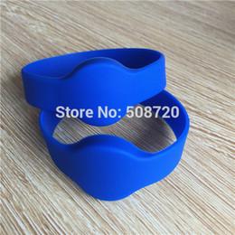 pulseiras rfid 125khz Desconto Atacado-eco friendly 125KHZ EM4100 cabeça redonda pulseira de identificação de silicone à prova d 'água, rfid pulseira, rfid pulseira