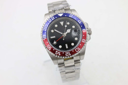 Wholesale Luxury Watches Gmt - store of top seller jason007 luxury brand watches men 116719BLRO GMT red & black ceramic bezel watch automatic watch mens dress watches