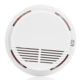 Wholesale Home Security Smoke Detector Fire Alarm Sensor Monitor Excellent Stability High Sensitivity LED Security Alarm System