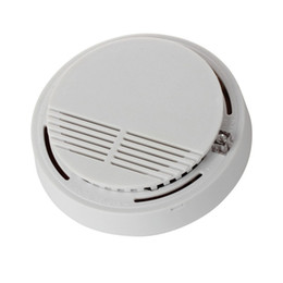 fire security alarm Coupons - Wireless Smoke Detector sensor for Wireless GSM Alarm System Fire Alarm for House Security S160