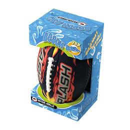 Winmax prezzo di fabbrica a buon mercato 10,5 pollici splash beach american foot ball, bellissima confezione regalo in neoprene pallone da spiaggia da