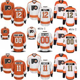 Wholesale Ron Mix - Philadelphia Flyers Jersey 53 Shayne Gostisbehere 12 Michael Raffl 27 Ron Hextall 88 Eric Lindros 93 Jakub Voracek Jerseys Mix Order