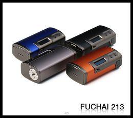 Original sigelei 75w mod on-line-100% Original Sigelei Fuchai 213 Caixa TC Mod VW 213 W Dual 18650 bateria Mod com 0.91 polegada Tela OLED VS Lobo da Neve Mini 75 W TC Box Mod