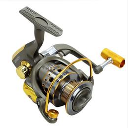 Carpa barco online-2017 Nueva Carp Fishing Reel Spinning Wheel 5.5: 1 10Ball Bearing Boat Rock Fishing Wheel Drag Sea Boat Spinning Fishing Reel