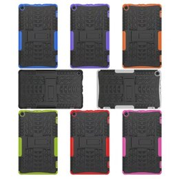 Wholesale Kindle Fire Hd Smart Cover - Hybrid Shockproof Rugged Rubber Case Skin Smart Cover for Fire HD8 2017