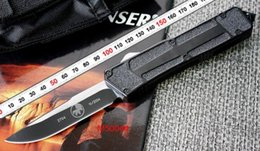 Wholesale Tools For Fishing - MICROTECH A161 A162 Troodon SCARAB Survival knife Pocket knife Tactical knife knives micro cutting tool with box gift for men free shipping