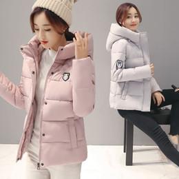 Wholesale Doudoune Femme - Cheap wholesale 2017 new Autumn Hot selling warm woman parkas Winter women jackets female cute bisic coats doudoune femme