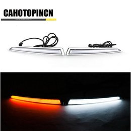 Wholesale Led Light Ford Kuga - Turn Signal Light and turn off Relay 12V GUIDE LED CAR DRL Daytime Running light accessories for FORD Kuga Escape 2013 2014 2015