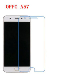 Wholesale Oppo Screen - 9H Tempered Glass For OPPO A57 phone film Phone Protective touch screen protector Free shipping