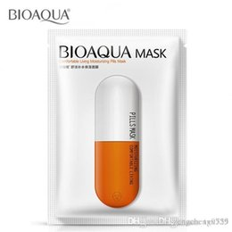 Wholesale Balance Treatment - bioaqua brand beauty products pills face mask face care moisturizing Oil-control pore firming balance Brightens Skin Care smooth
