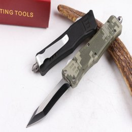 Wholesale Curved Blade Folding Knife - Recemend mi 616 single blade (full curved blade)3 modles Hunting Folding Pocket Survival Knife Xmas gift for men copies 1pcs freeshipping
