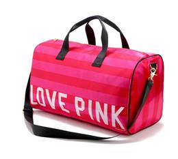 Wholesale Portable Beach - Vitoria VS rose red pink portable shoulder pack, travel bag, beach bag, luggage bag, travel bag