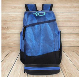 f56925bf4f leisure sports backpack Promo Codes - Ripple curve Letter KD edition large  capacity sports bag leisure