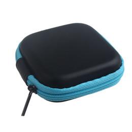 Wholesale earphones kawaii - Wholesale- flama Zipper Storage Bag Carrying Case for Hard Keep Earphones SD Card Area Lovely Kawaii Cartoon Women Girls Small Wallet 2017