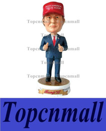 Wholesale United Angels - New President of the United States Donald Trump Status Doll Furnishing Articles Bobblehead Christmas Gift SWISSANT
