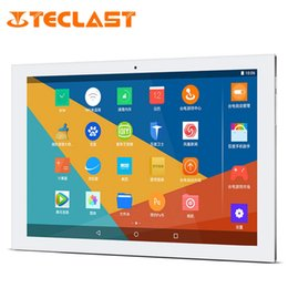 Wholesale Intel Touch Ultrabook - Wholesale- Teclast X10 Plus Android 5.1 Intel Cherry Trail Z8300 64bit Quad Core IPS 1280*800 Ultrabook 2G RAM 32G ROM 10.1 inch Tablet PC