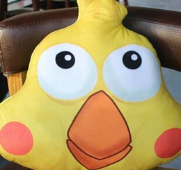Wholesale Stuffed Parrot Toys - 40Cm Hot Docomo Parrot Brother Plush Toy Yellow Parrot Stuffed Dolls Creative Anime Cartoon Pillow Gifts for kids