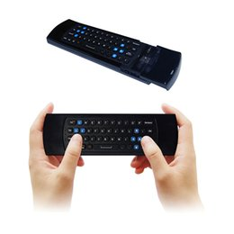 Wholesale Measy Air Mouse - 2017 New Measy GP811 2.4G Remote Control Air Mouse Wireless Keyboard for MX3 M8S T95 Android Mini PC TV Box Smart TV
