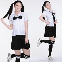 Wholesale Costumes For Students - New Japanese School Uniform Set Student Uniform School Clothes Preppy Style for School