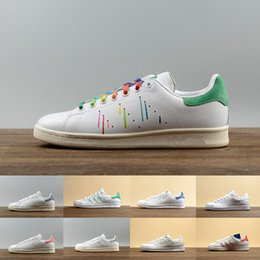 Wholesale Casual Shoes Style For Men - 2017 classic style Stan Smith Shoes for men women Athletic Shoes White color musial originals Stan Smith Skateboarding casual Shoes 36-44