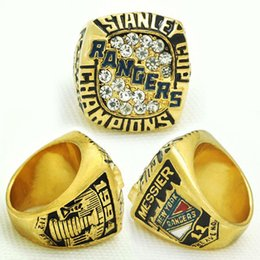 Wholesale 1994 New York Rangers - 2017fashion factory direct sale sport Ring 1994 New York Rangers Stanley Cup Championship Ring for men big ring size 11