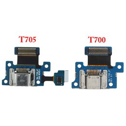 Wholesale Dock Connector Charging S2 - For Samsung Galaxy Tab S2 8.4 T700 T705 USB Charger Charging Connector Dock Port Flex Cable Board with Mic Microphone