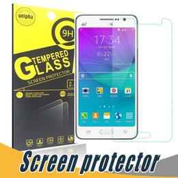 Wholesale Screen Protectors S4 - Clear Tempered Glass Transparent 9H 2.5D Screen Protector Film With Paper Retail For Samsung S7 Edge S4 S5 S6 S7 Active I9100