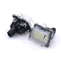 Wholesale W221 Mercedes - Eonstime 7000K 2pcs 18LED License Plate Lamps For Mercedes Benz W204 W212 W207 W221 W216 C250 C300 C350 C63 Sedan W218 2010 W212