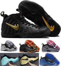 Wholesale Height Increasing Shoes Size 13 - Sale Air Basketball Shoes Sneakers Men's Women Blue Man One Pro Sports Shoes Pearl Penny Hardaway Shoes Size:5.5-13