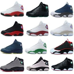 Wholesale Basketball Online Games - [With Original Box]2017 Air Retro 13 XIII men women Basketball Shoes red Bred He Got Game Black Sneaker Sport Shoes Online Sale