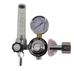 Wholesale Mig Welding Co2 Gas - HITBOX CO2 Regulator CO2 Reducer Pressure Gas Flowmeter for mig welding machine