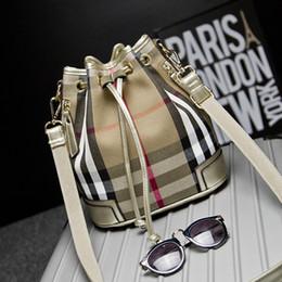 Wholesale Silk Backpacks - Female bag 2015 new bucket bag fashion silk canvas backpack leisure multi-purpose single shoulder bag can be your shoulders