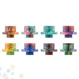 Wholesale Electronic Mouthpiece - Best Epoxy Resin Drip Tips For LIMITLESS XL Tank Atomizer High quality Mouthpiece Electronic Cigarette DHL Free