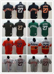 Wholesale Wholsale Jersey - Wholsale Houston Astros #27 Jose Altuve Baseball Jerseys 2016 Flexbase Jose Altuve Jerseys Best Quality Free Shipping