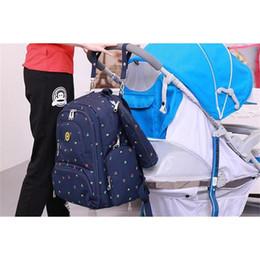 Wholesale Maternity Leopard Print - Wholesale Fashion Mummy Maternity Nappy Bag Brand Large Capacity Baby Bag Travel Backpacks Desiger Nursing Bag for Baby Care Backpack Women