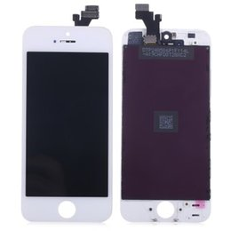 Wholesale Touch Screen Phone Replacement Glass - Replacement LCD Screen Assembly + Touch Glass Digitizer Phone Repair Tool Kit for iPhone 5