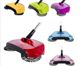 Wholesale Without Handles - Sweeping Machine Push Type Magic Broom Dustpan Handle Household Vacuum Cleaner Hand Push Sweeper Floor Robotic Without Electric KKA1675