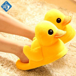 Wholesale Cute Couple Animals Cartoon - Wholesale- Winter Cartoon Animal Home Shoes Slippers Men Women Couples Cute Pantuflas Soft Floor Indoor Chinelos Lovers Household Pantufas