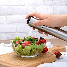 Wholesale Tool Spray - 1Pcs Stainless Steel Spray Pump Fine Mist Olive Pump Spray Bottle Oil Sprayer Pot Cooking Tool