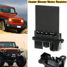 Wholesale Wholesale Blower Motor - New Heater Blower Motor Resistor for Jeep Wrangler Liberty DXY88