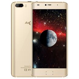 Wholesale Random Gold - AllCall Rio 3G Smartphone 5 Inch Android 7.0 Quad Core 1GB RAM 16GB ROM Dual Back Cameras Dual Curved Edge